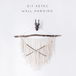 diy aztec wall hanging 3