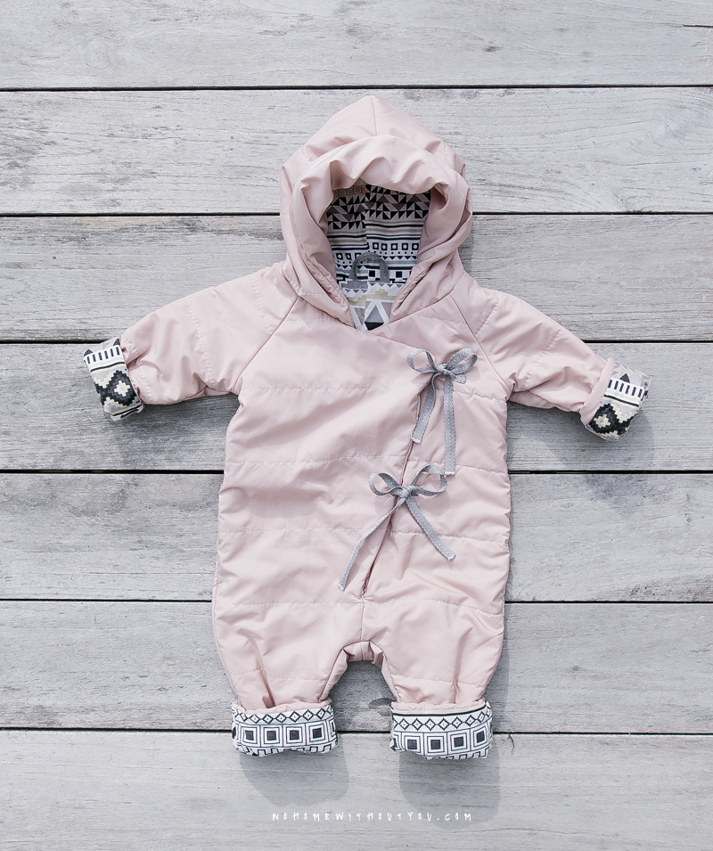DIY baby winter overall No Home Without You