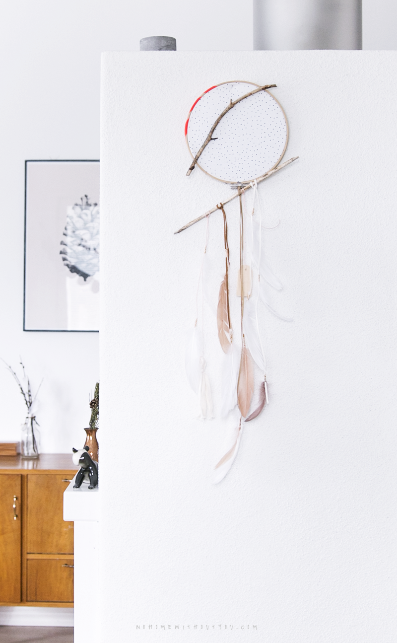 DIY dream catcher No Home Without You