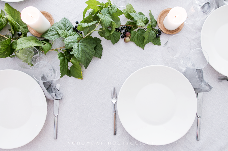 dinner table setting 7