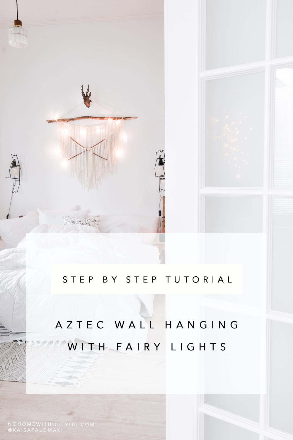 Aztec wall hanging tutorial No home without you blog