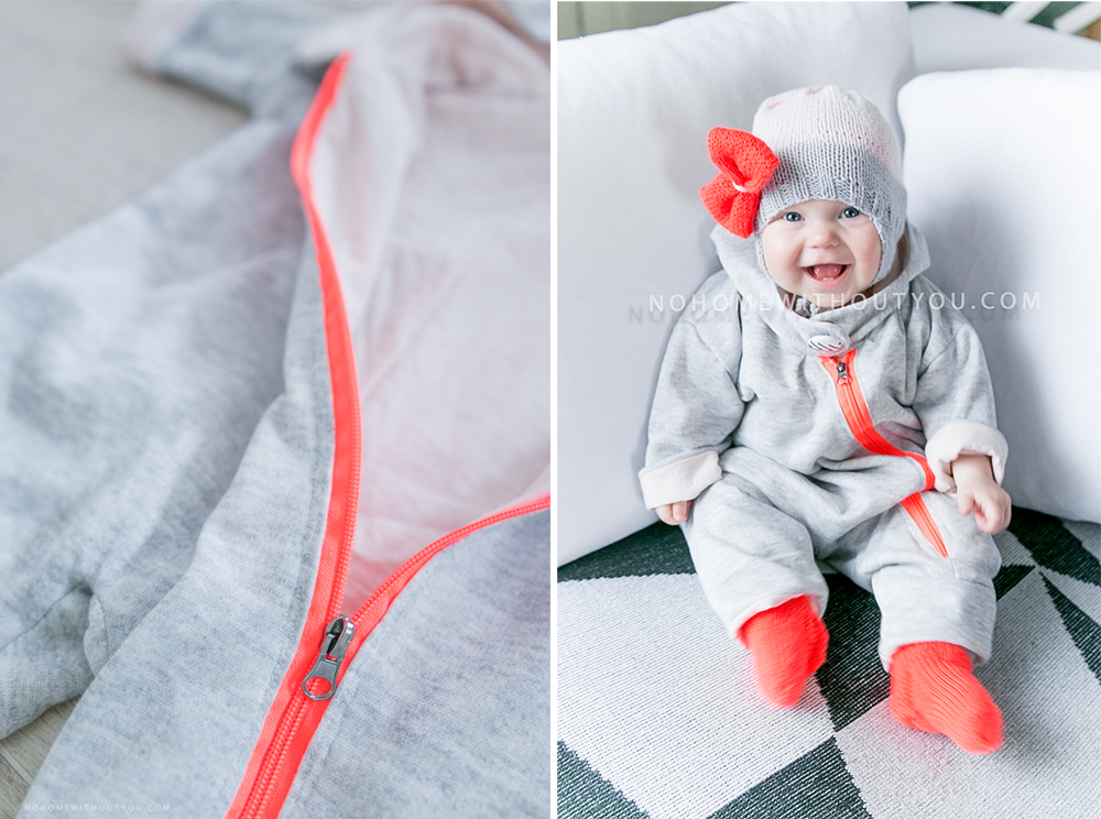 DIY baby clothes No home without you blog