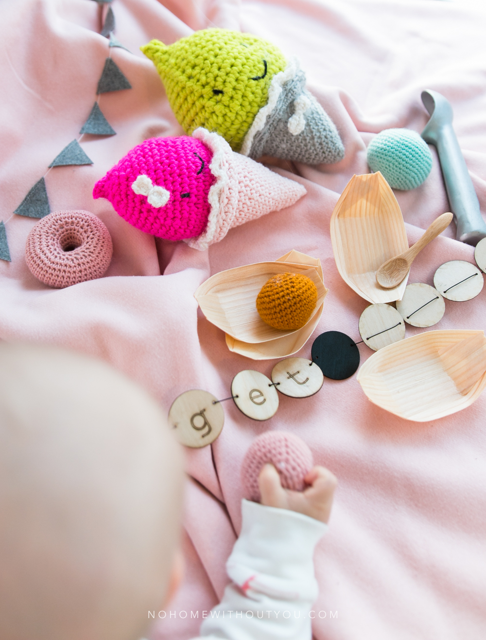 Ice Cream Party - Free amigurumi crochet pattern - No Home Without You blog (7 of 10)
