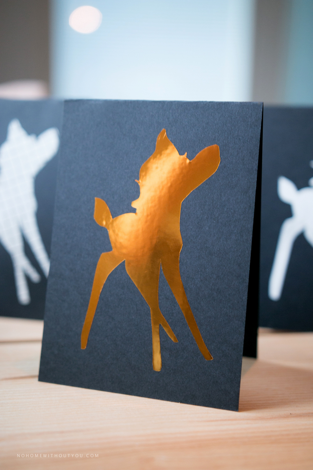 Free printable bambi pattern cards No home without you blog (1 of 8)