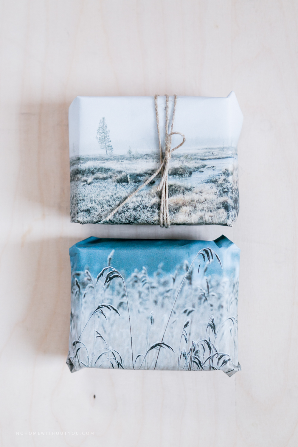 Recycled Christmas gift wrapping (3 of 10)