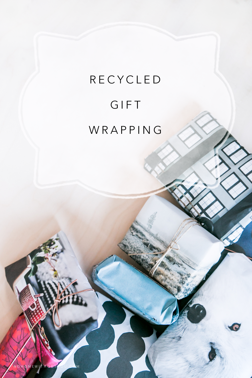 Recycled Christmas gift wrapping (6 of 10)