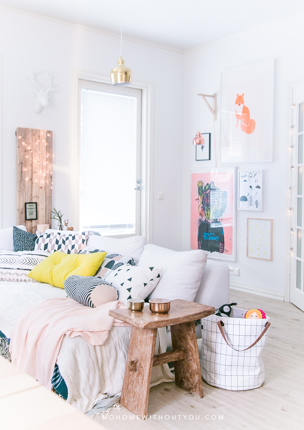 No Home Without You - Colorful living room (1 of 21)