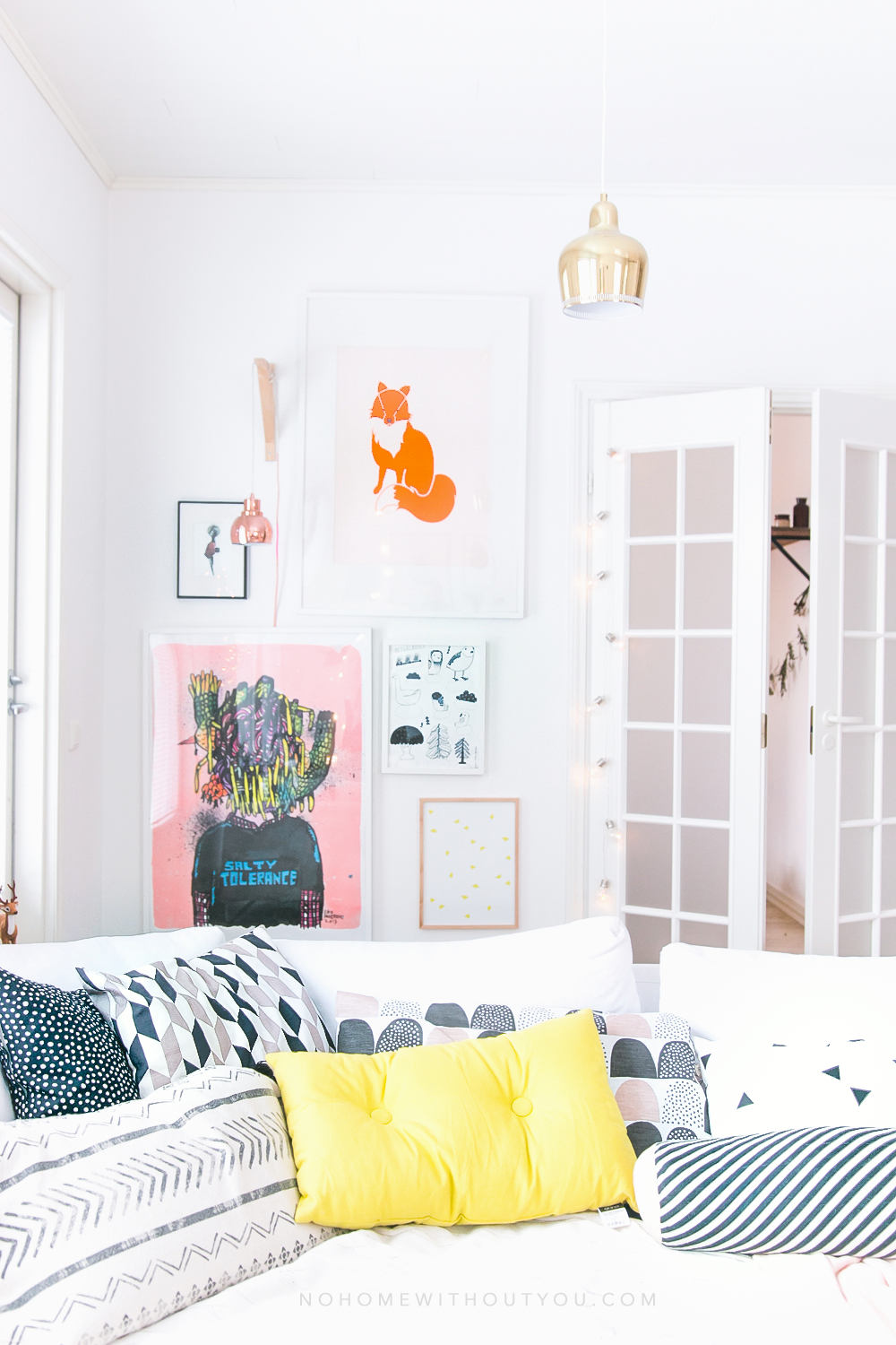 No Home Without You - Colorful living room   (14 of 21)