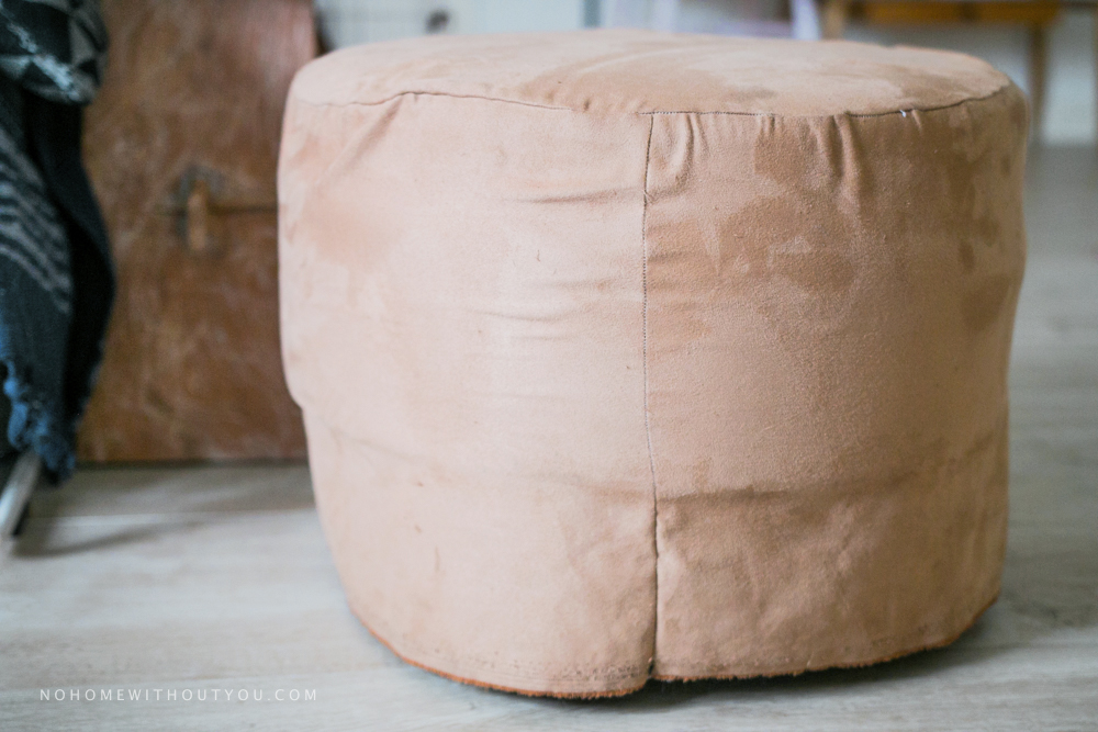 No home without you - DIY footstool makeover (1 of 12)