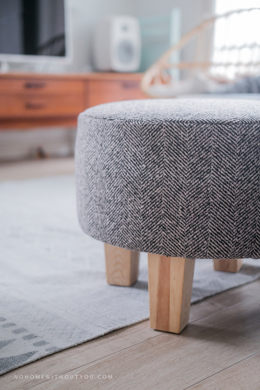 No home without you - DIY footstool makeover (7 of 12)
