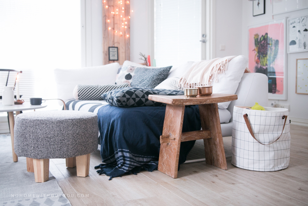 No home without you - DIY footstool makeover (8 of 12)