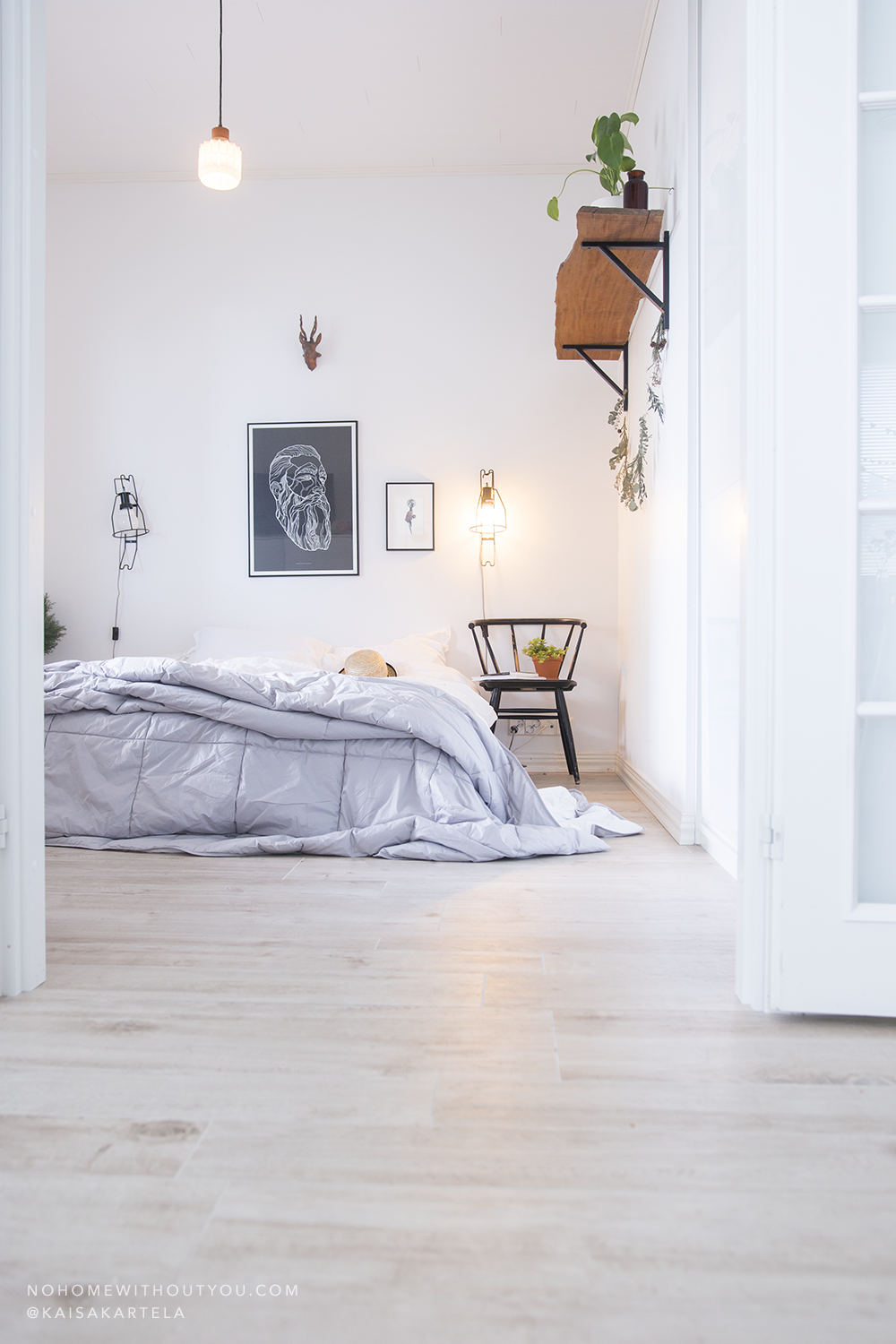 Bedroom Interior - No Home Without you - 9