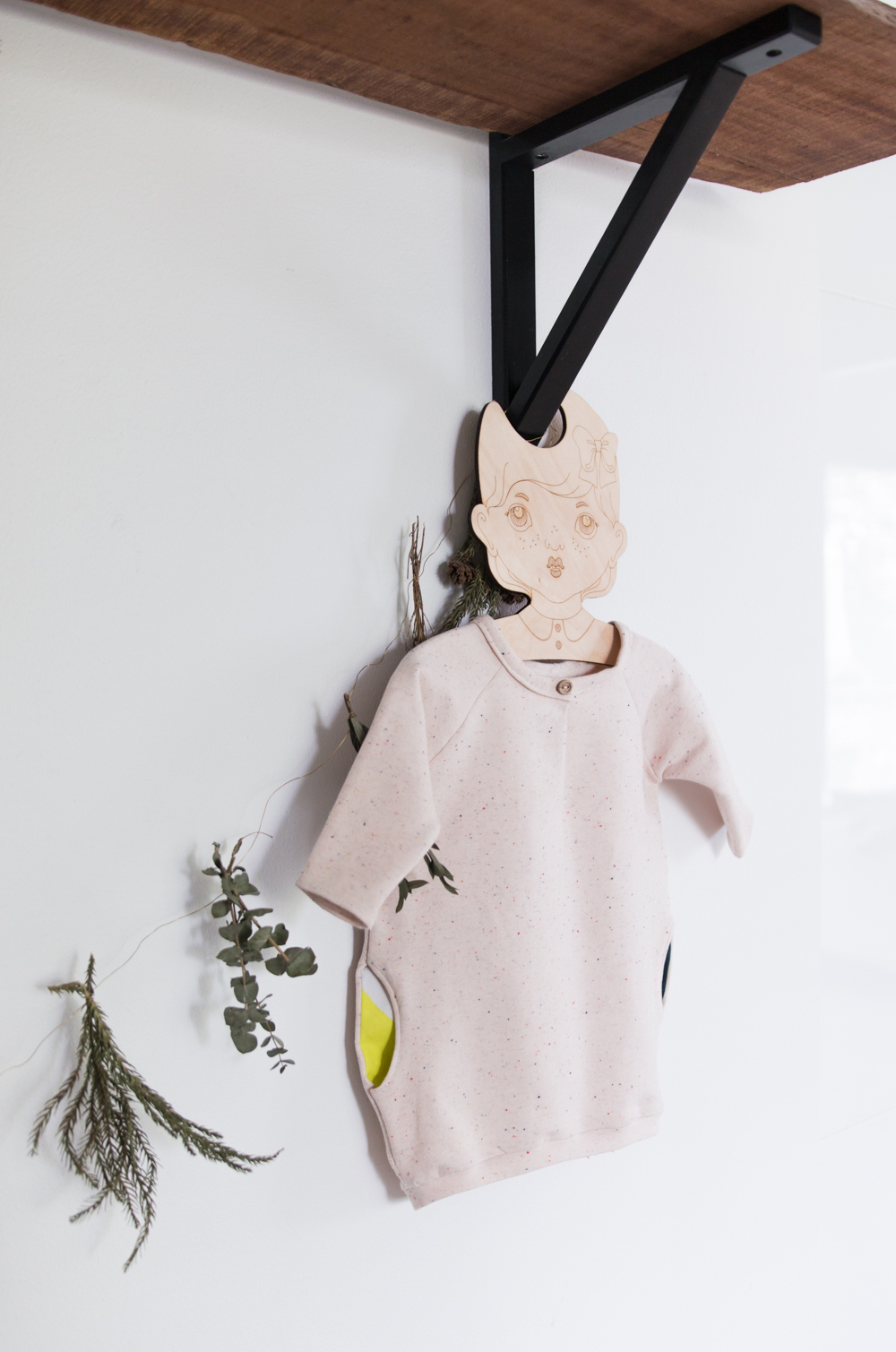 Baggy baby tunic - No Home Without You (1 of 1)